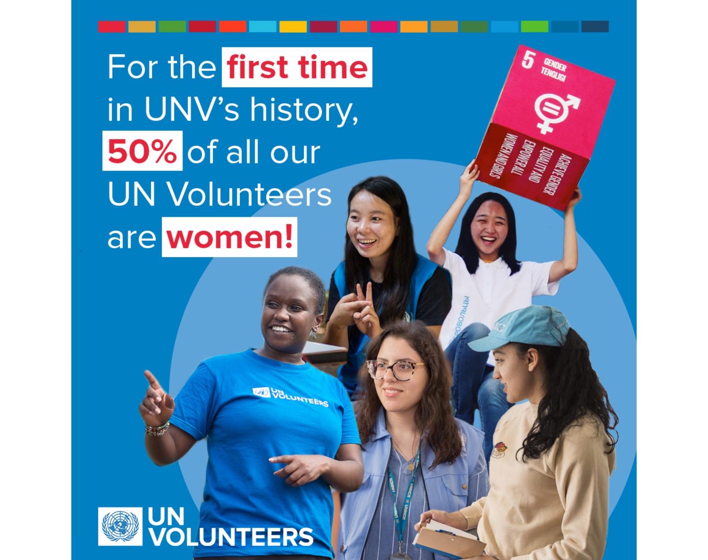 Unv has reached gender parity bbf45ff4 72a1 4765 9ebf f43268125328