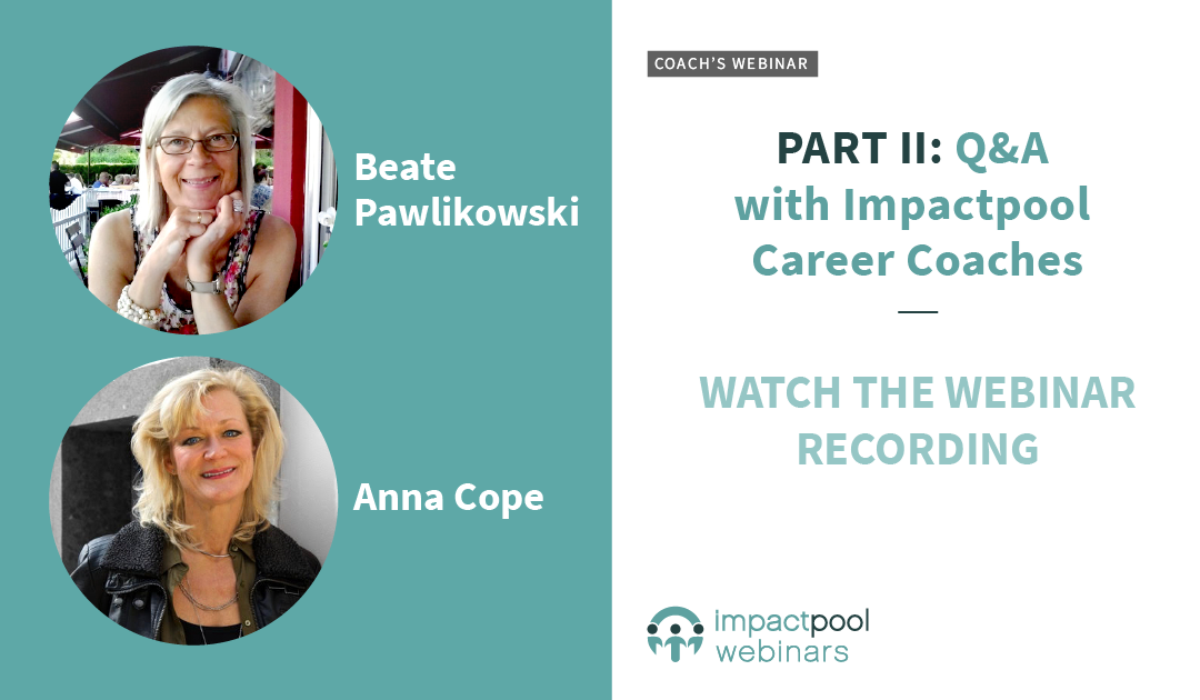 Career coach webinar with beate and anna 1aeeb027 07a5 4393 9de4 515174e9ff88