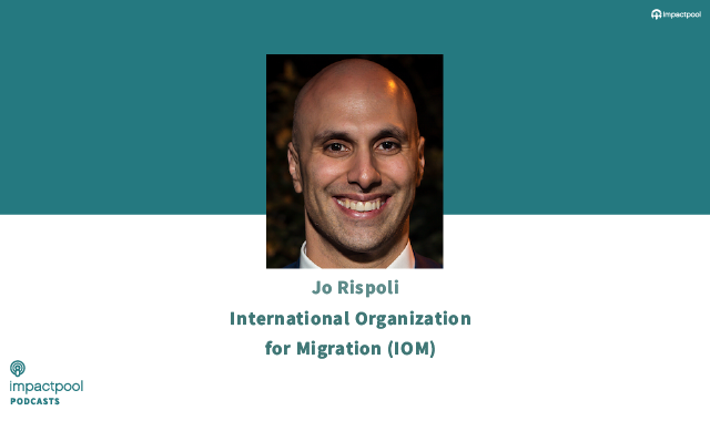 Career podcast iom global staff association committee chairperson jo rispoli 19eee84e b291 4b60 9d93 195aa796e0a1
