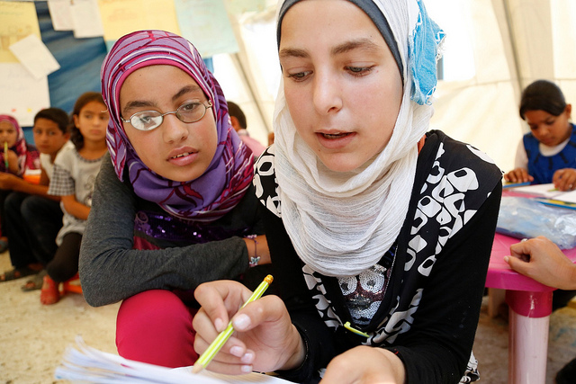 Dfid syria refugee