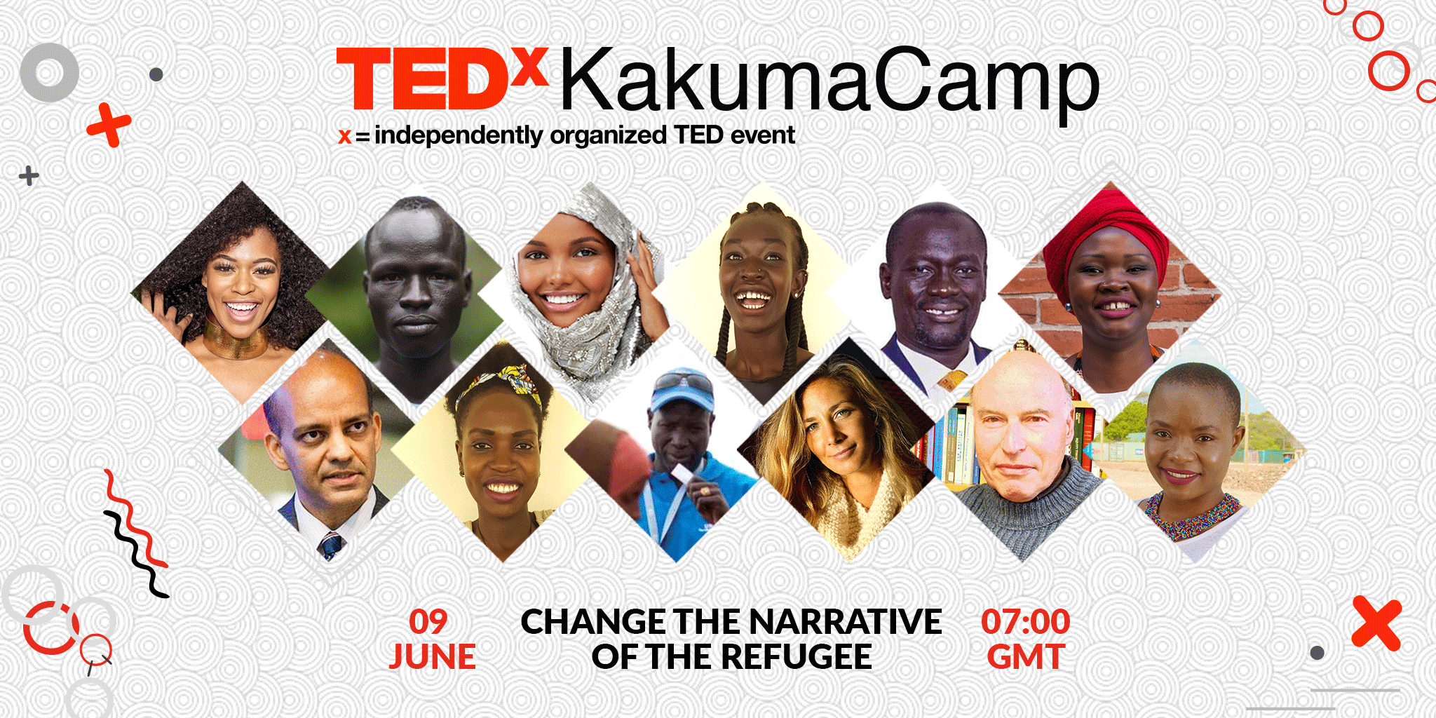 Join the worlds first ever tedx event from a refugee camp   watch live on 9 june ca1f5de7 fb45 4092 a236 7df8e2763515