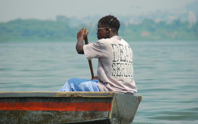 Lake victoria kampala uganda