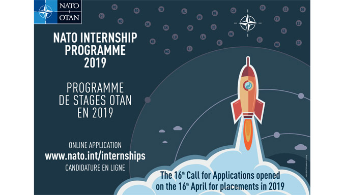 Nato launches a internship programme for 2019 6e4404fd 6f5c 41d0 af6b 18b183a59cd9