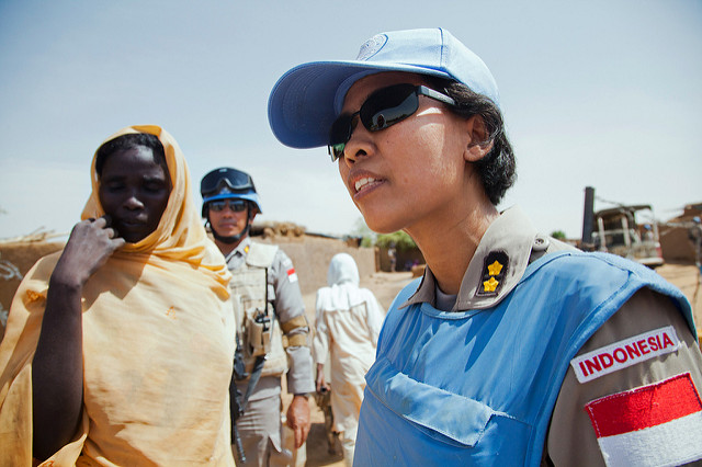 Unamid police women