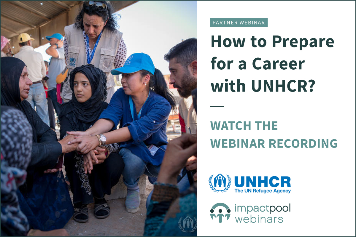 Watch the webinar how to prepare for a career with unhcr b6707031 8deb 4d3c 9908 ff5b6209d4a7
