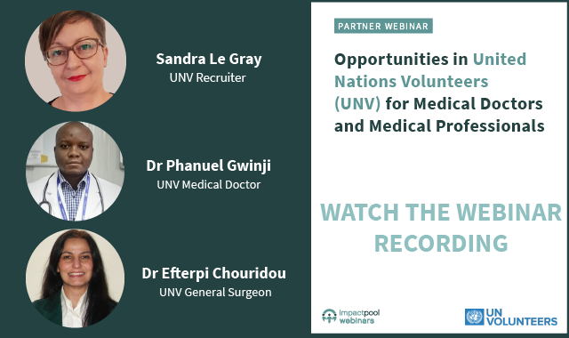 Watch the webinar opportunities in unv for medical doctors and medical professionals 468414e4 dd8f 42da bf44 43c0d8172526