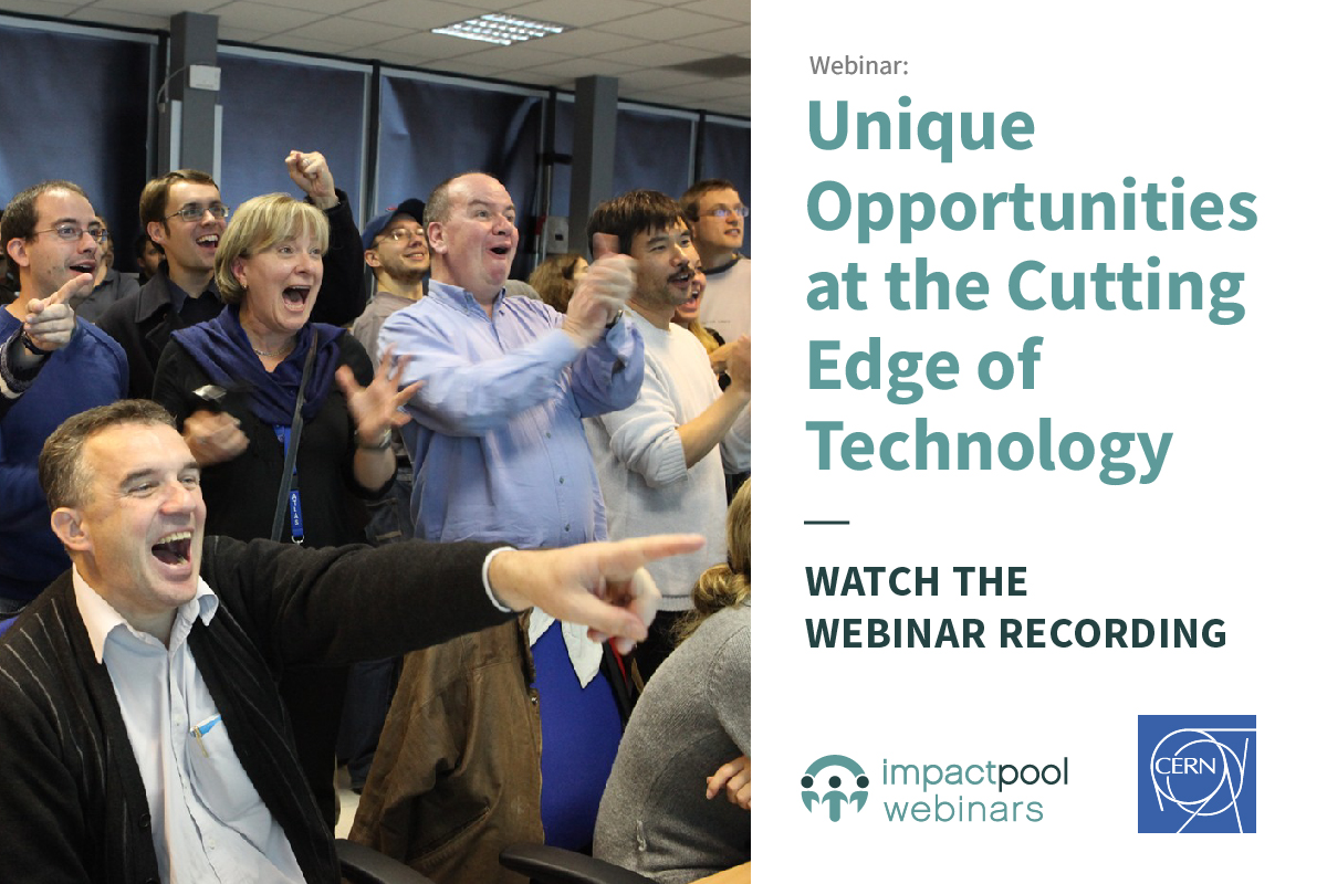 Watch the webinar wecandobetter with cern unique opportunities at the cutting edge of technology cb828f4a 3134 45fa b6e9 aeaf4c93ef8f