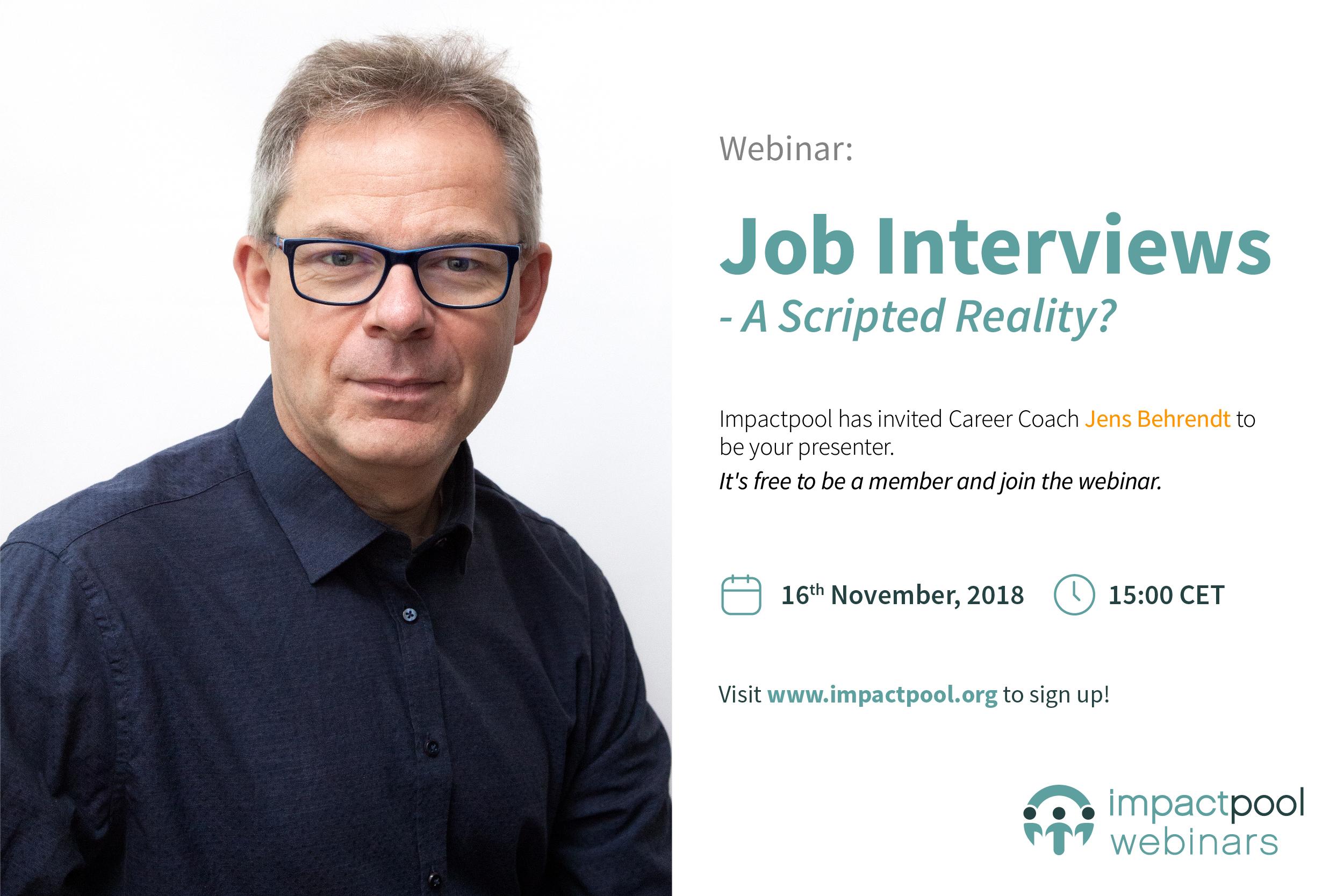 Webinar job interviews a scripted reality 2f8ea40b ed55 4431 8172 d116cd97f9ba