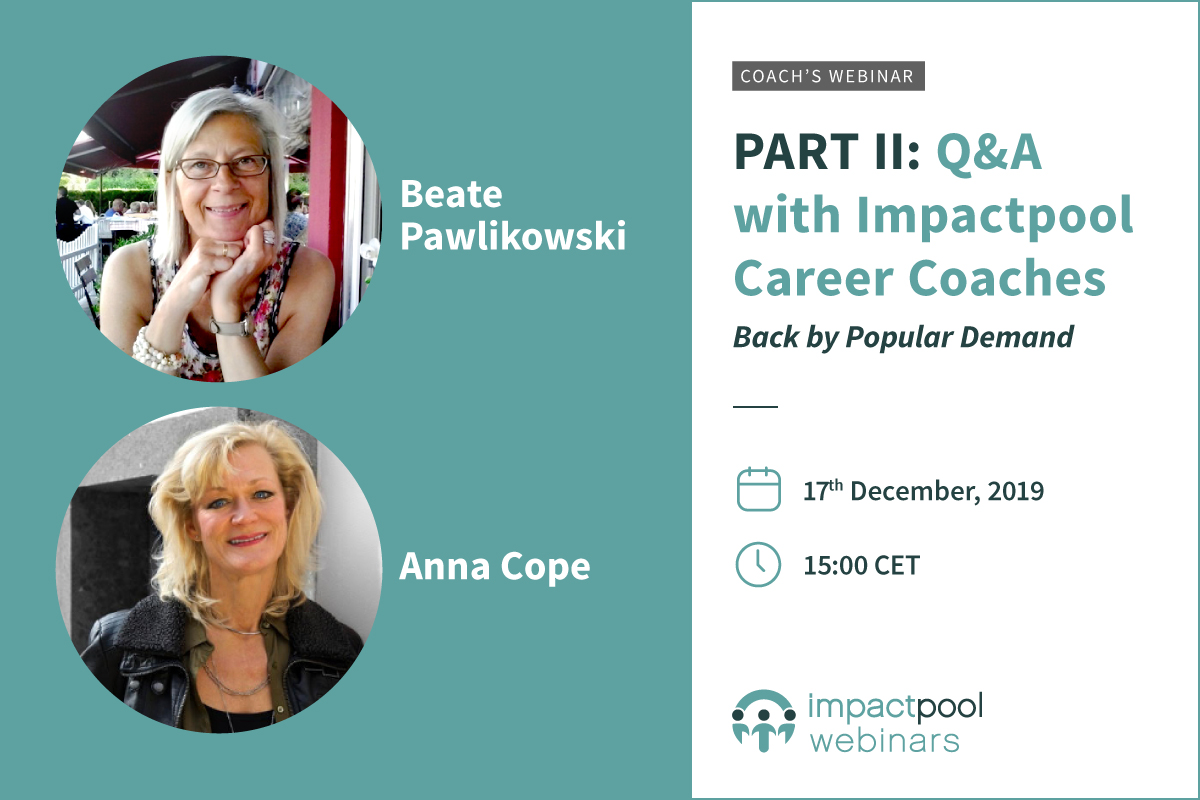 Webinar qa with impactpool career coaches 2nd edition 54137b3e 36d8 4764 a181 01b7472be6e5
